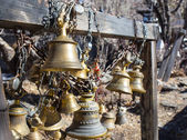 The ritual bell — Stock Photo