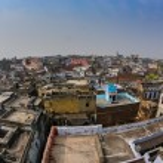 Varanasi Morning at Ganga River — Stock Photo #76487943