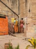 Public restroom in India — Stock Photo