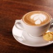 Delicious aromatic cappuccino — Stock Photo #59400715