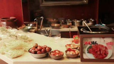 Fenghuang City Food — Stock Video