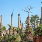 Ruins Shwe Indein — Stock Photo #70835295