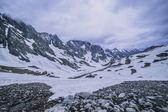 гора снега — Стоковое фото