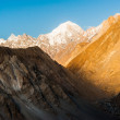 Sunrise over mountain peak — Stock Photo #71368525