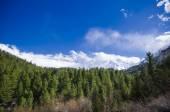 Idyllic of mountain peak — Stock Photo