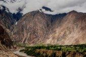Idyllic Mountain Valley — Foto de Stock