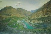 Idyllic Mountain Valley — Stock Photo