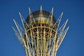 The cupola of the Baiterek tower — Stock fotografie