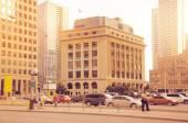 Toronto city center at evening time. — 图库照片