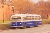 Retro trolleybus. — Stock Photo