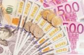 European and american money. — Stock Photo