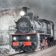 Retro steam train. — Stock Photo #60230007