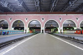Railway station in Moscow. — Stock Photo