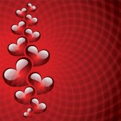Abstract background to the Valentine's day. — Stockvektor