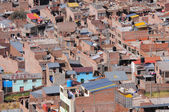 Houses on the streets of the Puno at day time.  — Stock Photo