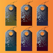 Set of the colorful tags. — Stock Vector