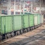 Long empty train. — Stock Photo #69039525