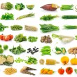 Vegetable isolated on a white background — Stock Photo #70192203