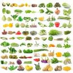 Set of vegetable isolated on white background — Stock Photo #71765613