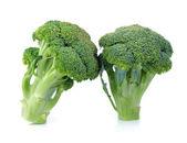 Broccoli isolerad på en vit bakgrund — Stockfoto