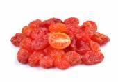 Dried tomato on white background — Stock Photo