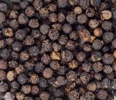 Black pepper seeds  — Stock Photo