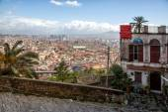 Napoli, lanscape from Saint Martino — Stock Photo