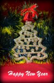 Tree New year — Stock Photo