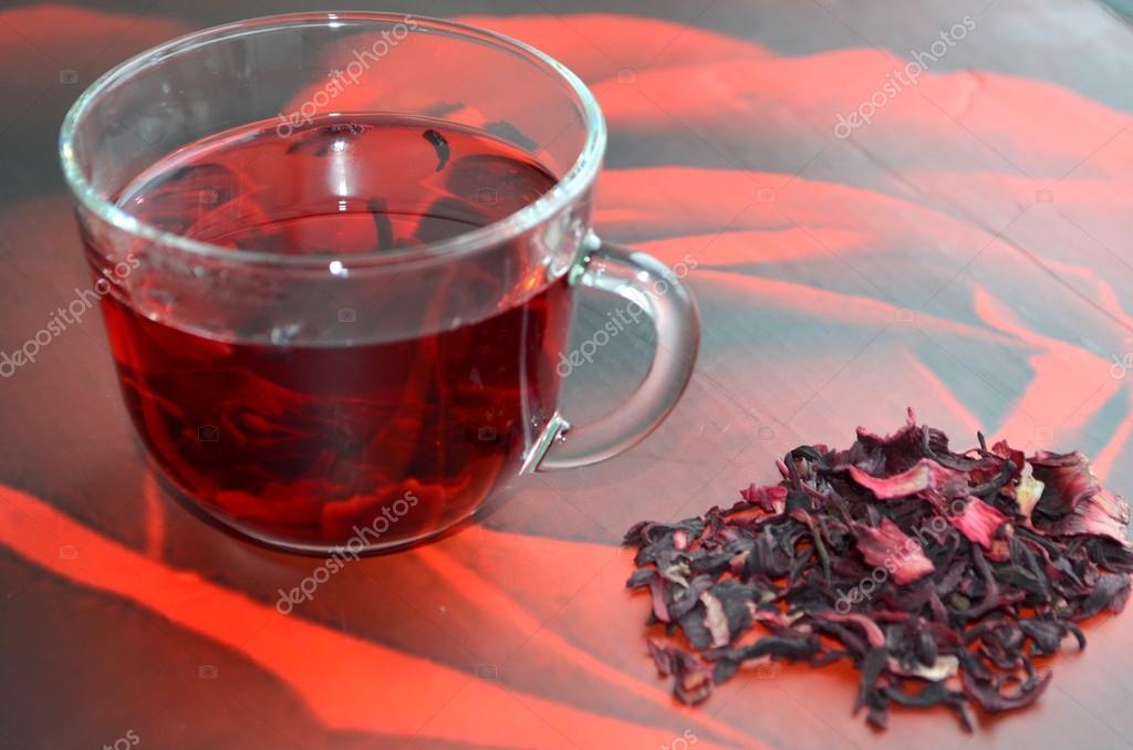 Чай каркаде при алкоголизме