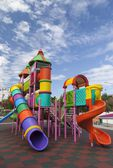 Playground for children in a clear day — Stock Photo