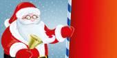 Santa Claus. — Stock Vector