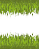 Zielonej trawy. — Wektor stockowy
