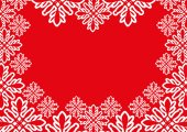 Vector banner. Snowflakes. — Stock Vector