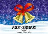Vánoční nápis. — Stock vektor
