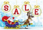 Christmas sale. — Stock Vector