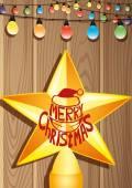 Christmas star. — Stok Vektör