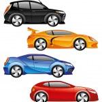 Car icons. — Stock Vector #59770073