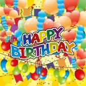 Doğum günün kutlu olsun. — Stok Vektör