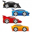 Car icons. — Stock Vector #65160377