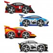 Vector set. Cars. — Stock Vector #65446749