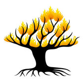 Vector sign. Tree. — Stock Vector