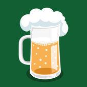 Vector illustration. Beer. — Stock Vector