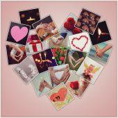 Valentinstags-karte — Stockfoto