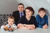 In famiglia — Foto Stock