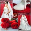 Wedding photo set — Stok fotoğraf #71689725