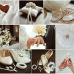 Wedding photo set — Stock Photo #71689739