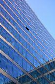 Fachada de vidro do edifício de escritório moderno — Fotografia Stock