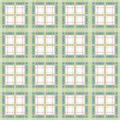 Seamless retro checkered plaid pattern — Stock Photo
