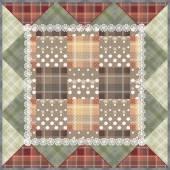 Sfondo di mosaico seamless pattern a scacchi — Foto Stock