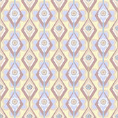 Seamless ornate pattern with geometric elements background — Foto de Stock